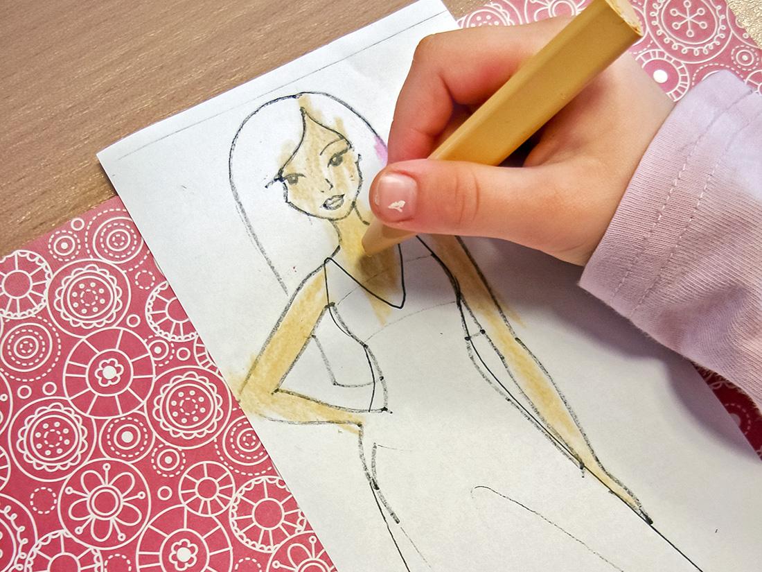 Malá módní návrhářka